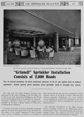 The Sprinkler Bulletin